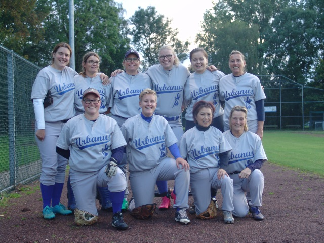 Dames Softbal 2017
